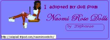 Naomi Rose Doll adoption Banner